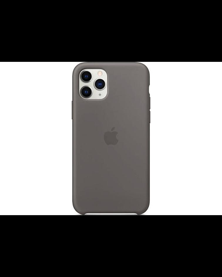 Carcasa silicona iPhone 11 Gris
