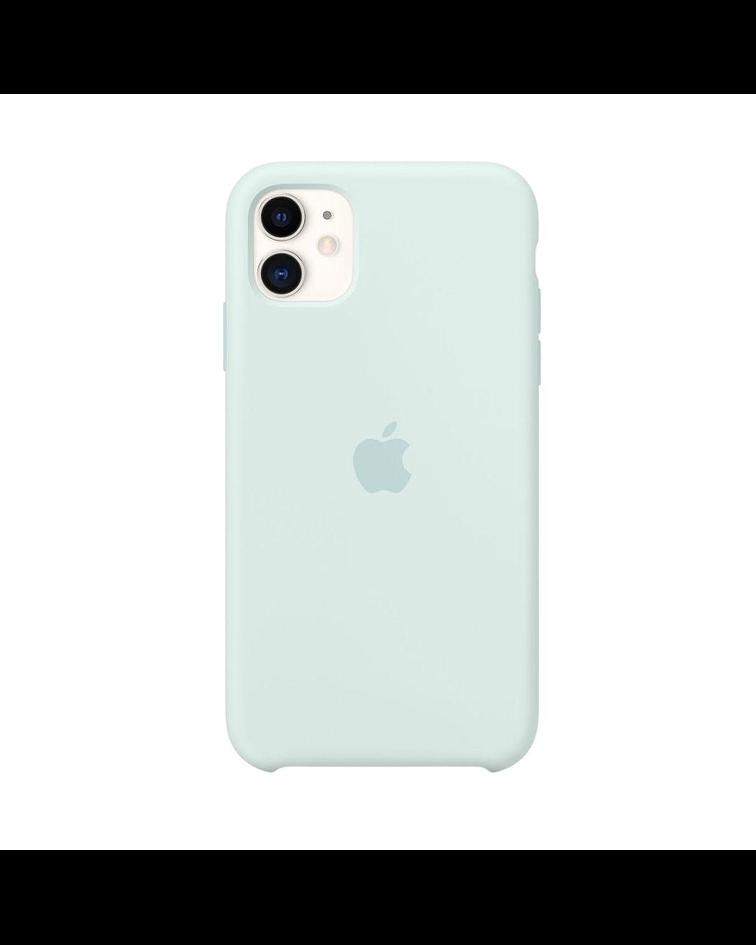 Carcasa silicona iPhone 11 Pro Max Menta