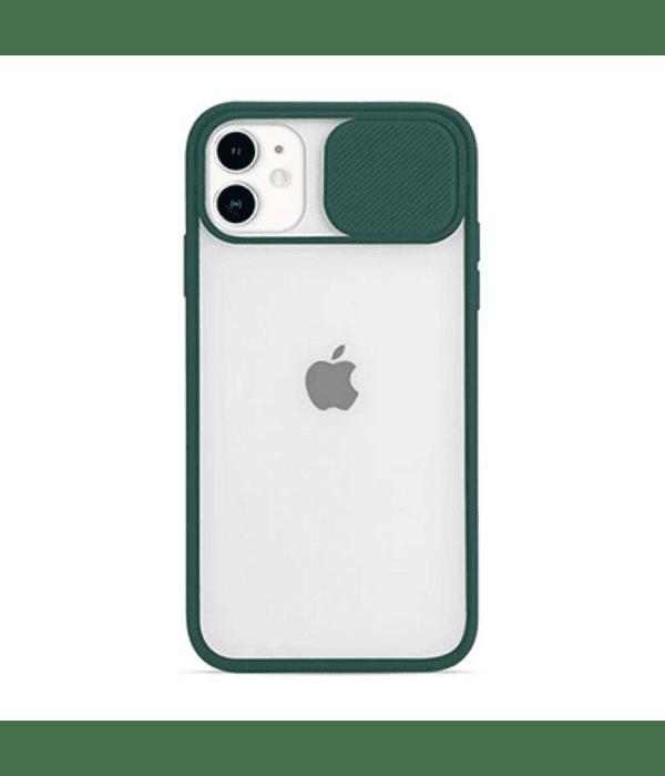 Carcasa cubre cámara iPhone 12/12 PRO Verde