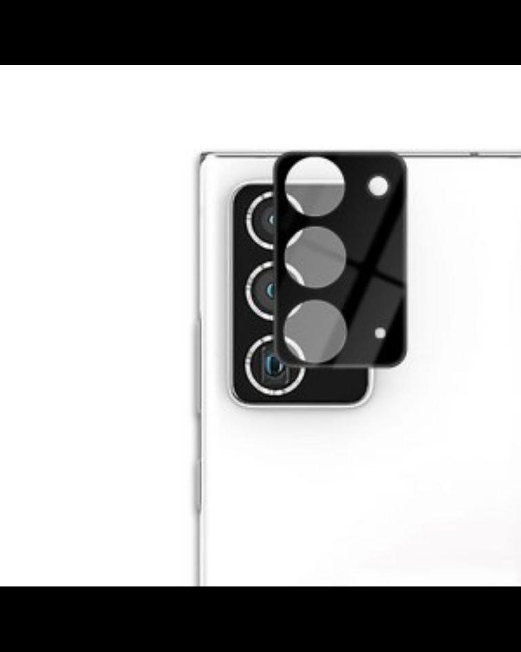 Protector metal lens shield con vidrio templado Samsung Note 20