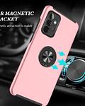 Carcasa Samsung A72 Anti Golpes Anillo Colores