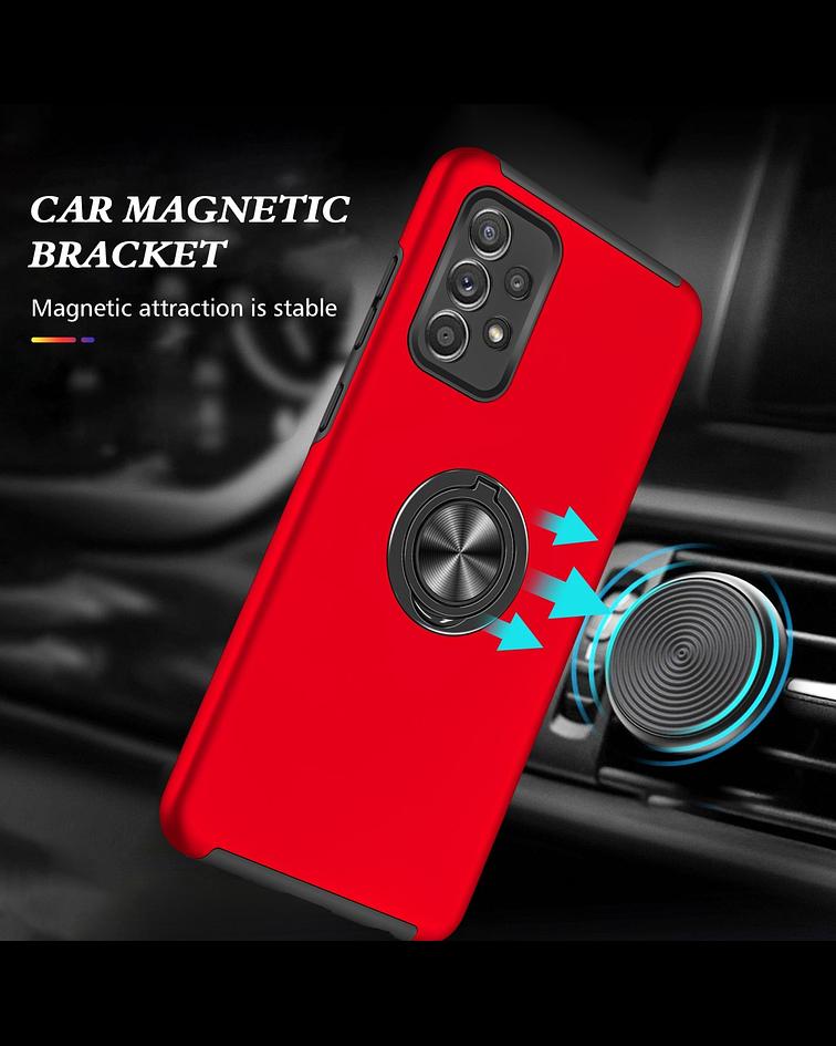 Carcasa Samsung A52 Anti Golpes Anillo Colores