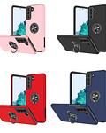 Carcasa Samsung S21 Anti Golpes Anillo Colores