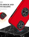 Carcasa iPhone 11 Anti golpes Anillo Colores