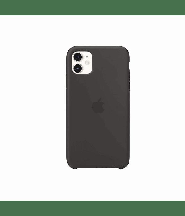 Carcasa Silicona iPhone 12 / 12 PRO Negro