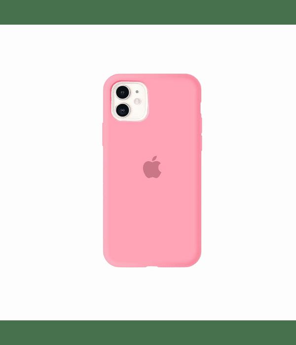 Carcasa Silicona iPhone 12 / 12 PRO Rosado