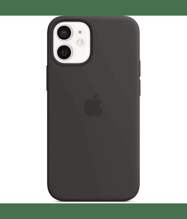 Carcasa Silicona iPhone 12 Pro Max Negro