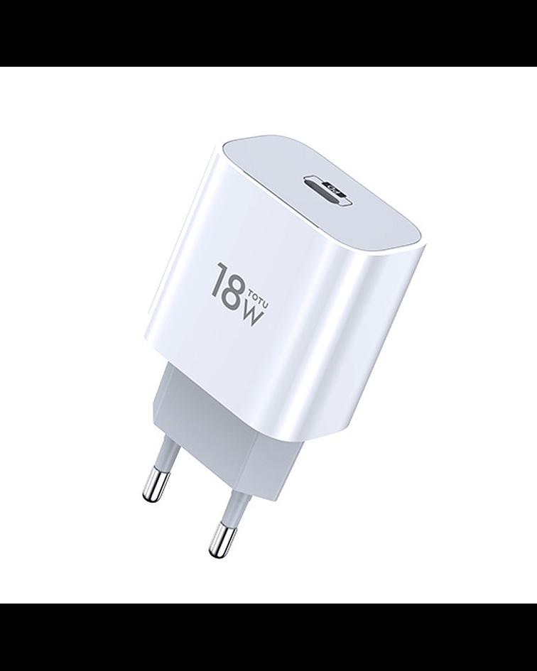 Cargador carga r‡pida 18W USB-C