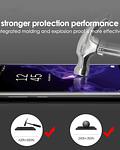 Lámina vidrio pegamento luz UV Samsung Galaxy S20+