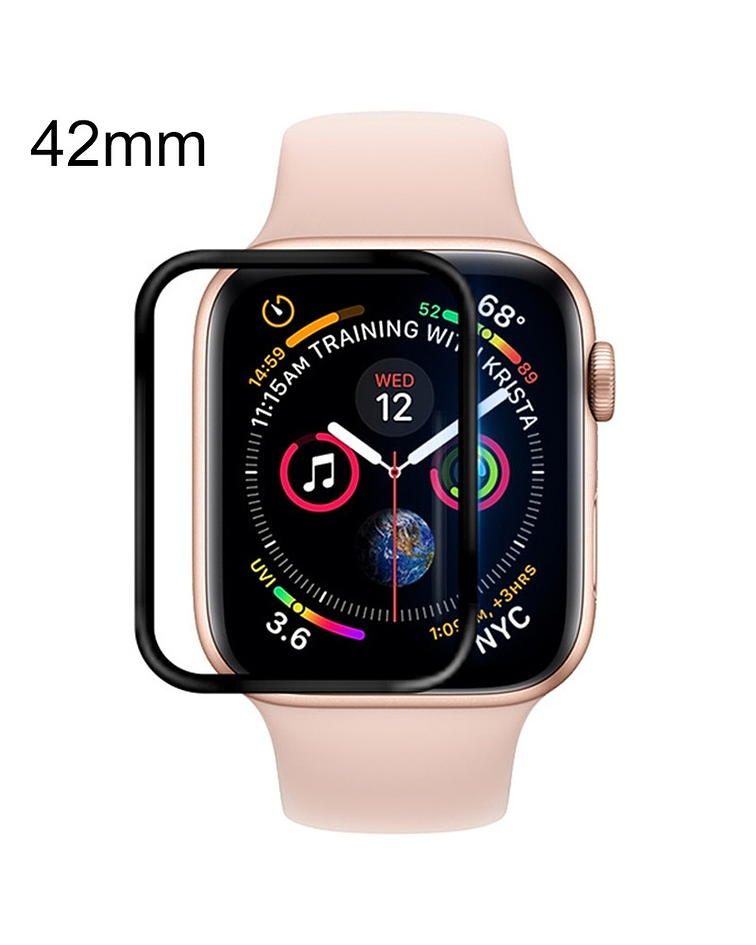 Apple iWatch 42mm Soft PET Film Full Cover protector pantalla