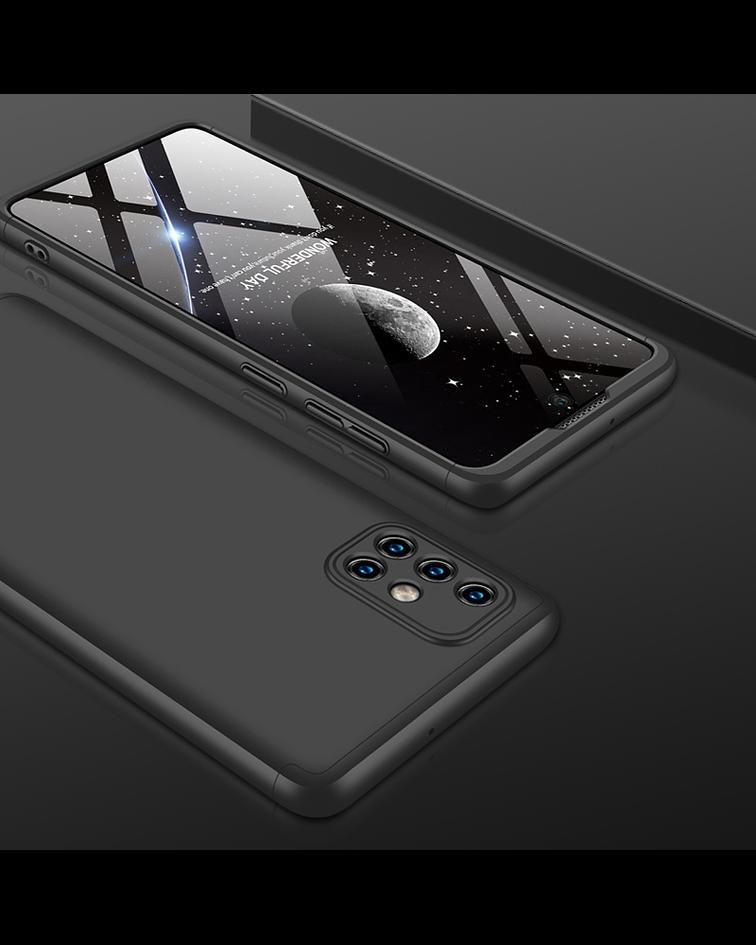 Samsung Galaxy A71 Carcasa negro
