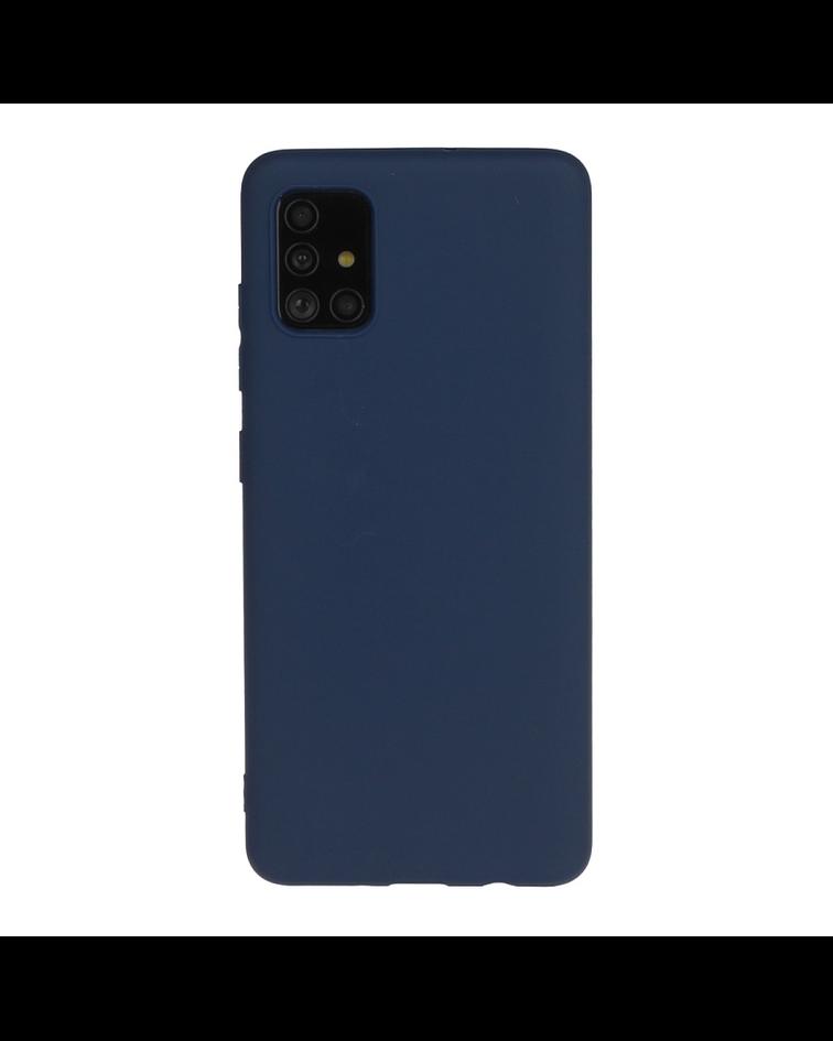 Samsung Galaxy A51 Carcasa ultra delgada azul