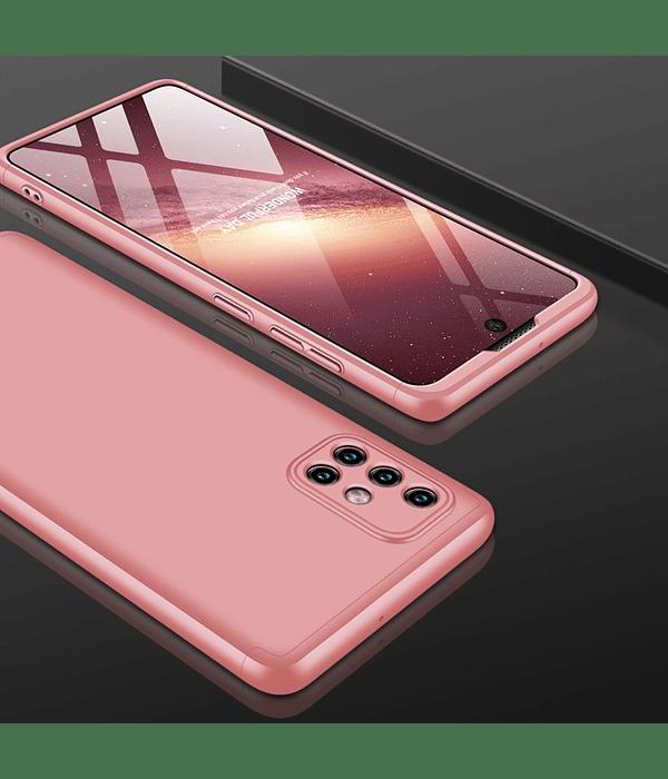 Samsung Galaxy A71 Carcasa Rosada