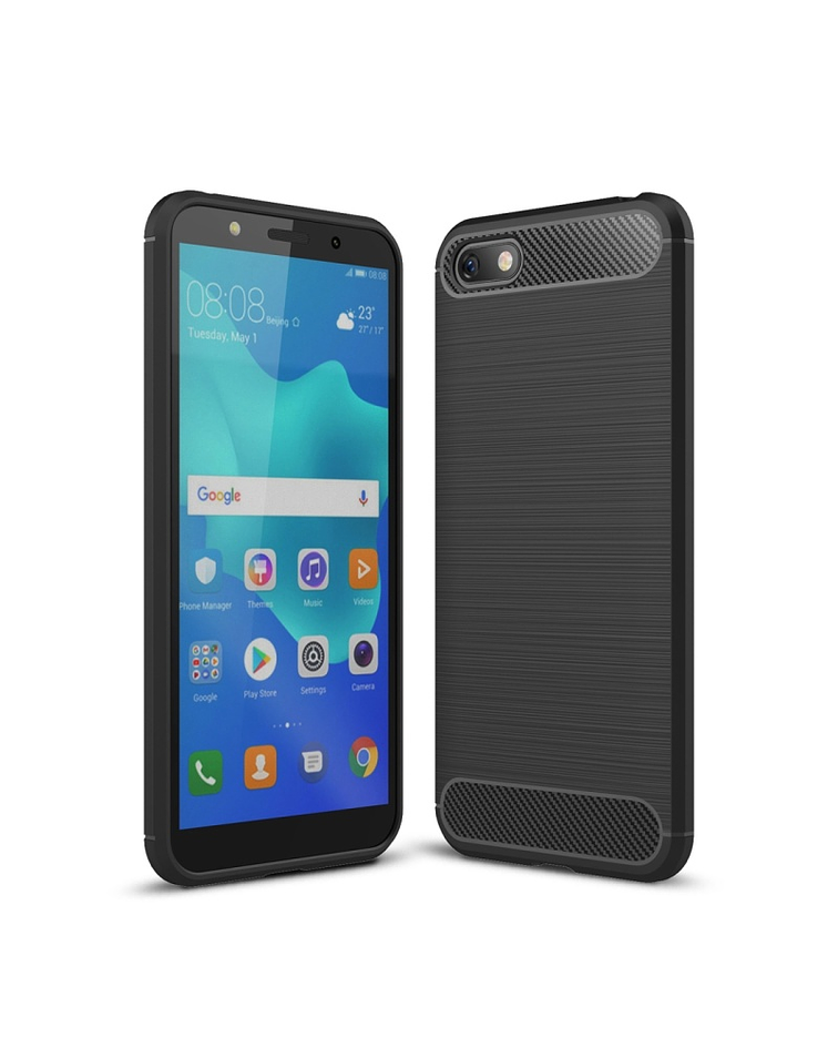 Carcasa Huawei Y5 Prime (2018) / Honor 7s negro
