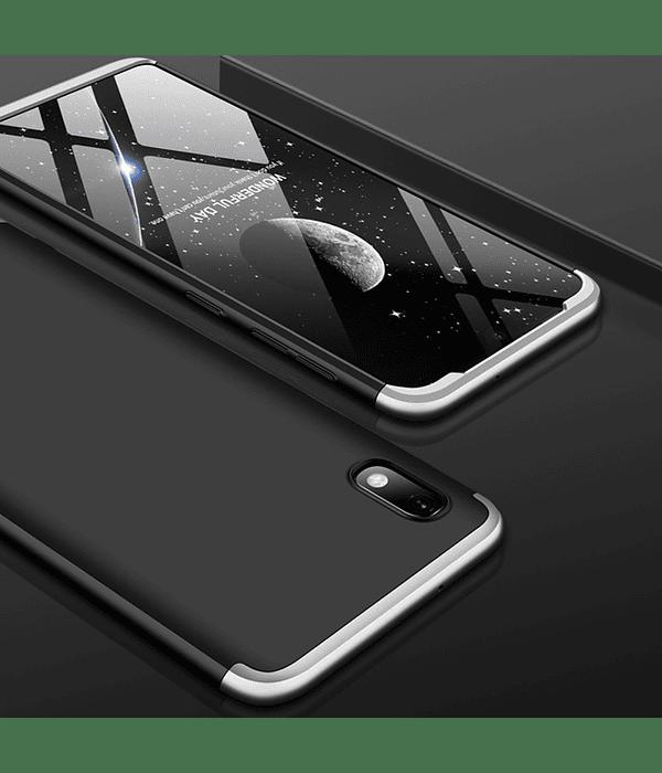 Samsung Galaxy A10 Carcasa Negro/plata
