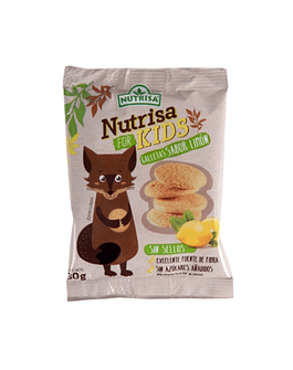 GALLETAS NUTRISA FOR KIDS SABOR LIMÓN (30 g)