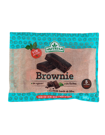 BROWNIE x 5 uds (200 g)