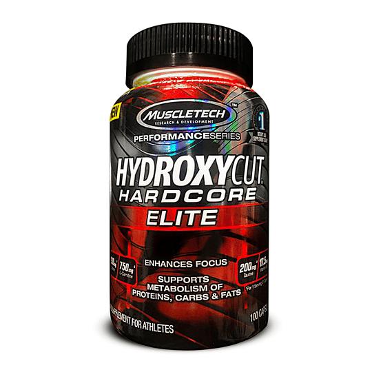 Hidroxycut Hardcore Elite 100 Cáps.