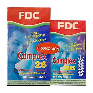 Complex 26 Pack 60+30 Comprimidos