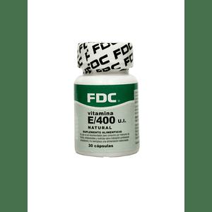 Vitamina E natural 400 mg x 90 cápsulas – FDC