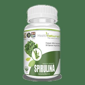 Spirulina 500 mg 90 Caps  Orgánico