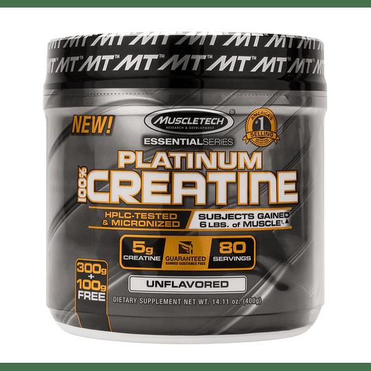 Platinum 100% Creatine (400 gr)
