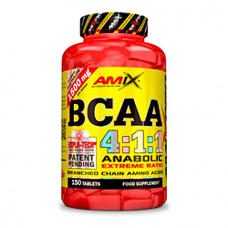 BCAA 4:1:1 AmixPro 150 Tabletas