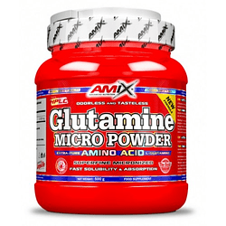 Glutamina Micronizada Amix 500 Grs