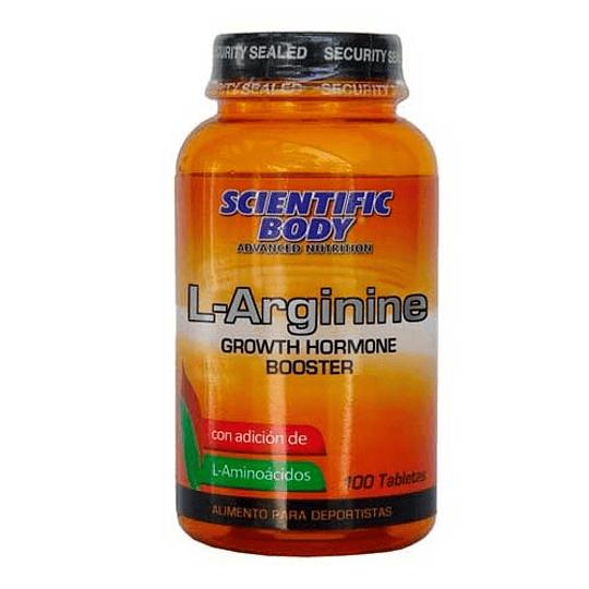 L - Arginine S. Body 100 Tbtas