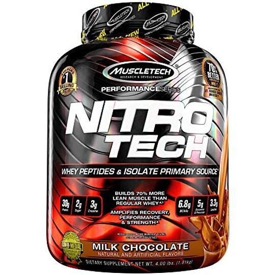 Proteína  Nitro Tech 4 Lbs  - Image 2