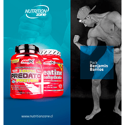 Pack Benjamín Barrios + Predator + creatina 1kg