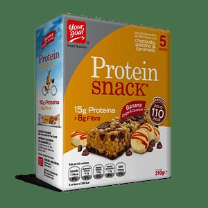 Protein Snack Banana Choco & Caramelo (Caja x 5 )