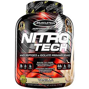 Proteína  Nitro Tech 4 Lbs
