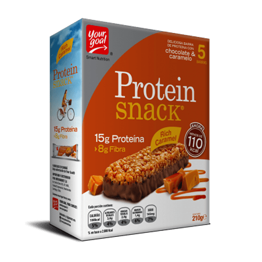 Protein Snack Rich Caramel - ( Caja x 5)  - Image 2