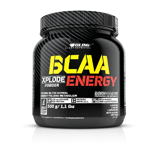 BCAA XPLODE ENERGY 500 GR