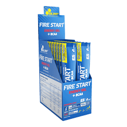 Fire Start Energy Gel + BCAA 20 Unidades