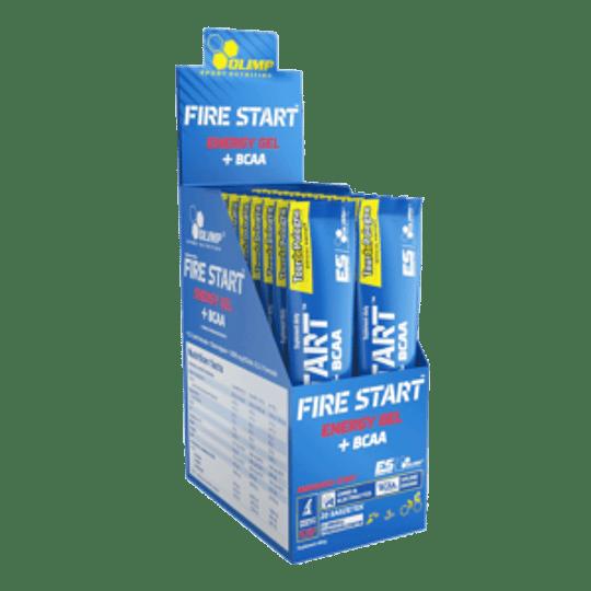 Fire Start Energy Gel + BCAA 20 Unidades