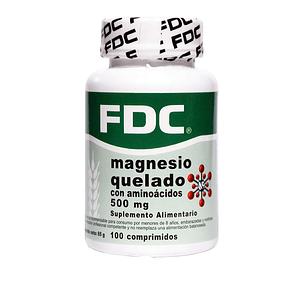 Magnesio Quelado con Aminoácidos