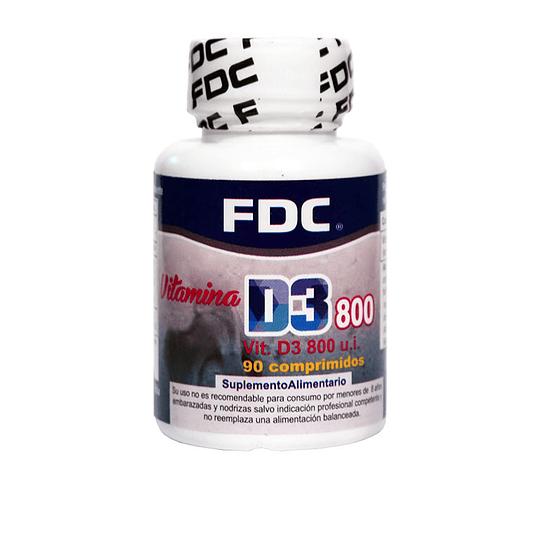 Vitamina D3 800 u.i. 90 comprimidos