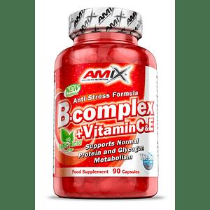 B- complex + Vitamina C y E 90 Cápsulas Amix