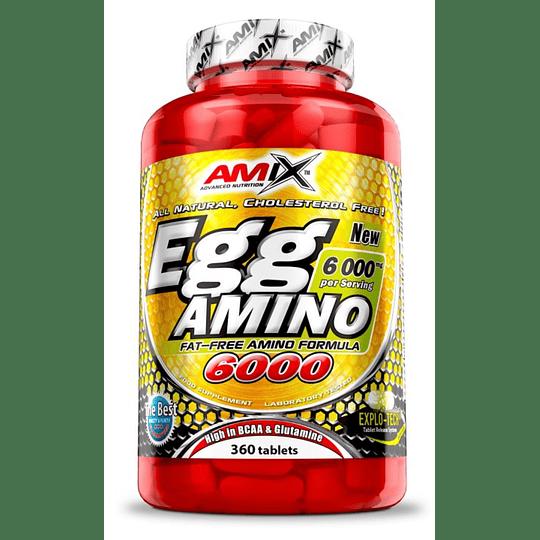 Egg Amino 6000 360 Tabletas Amix