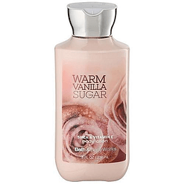 Warm Vanilla Sugar Bath And Body Works 236Ml Mujer  Crema