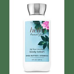 Hello Beautiful Bath And Body Works 236Ml Mujer  Crema