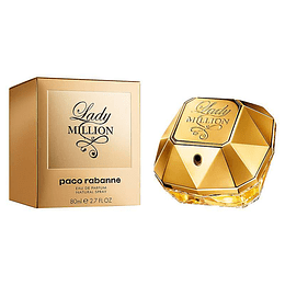Paco Lady Million  Edt 80Ml Mujer