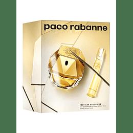 Lady Million Paco Rabanne Estuche 80Ml + 20Ml Mujer  Edp