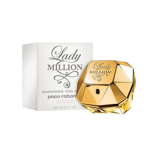 Lady Million Paco Rabanne Tester 80Ml Mujer  Perfume