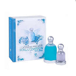 Halloween Blue Drop 100Ml + Tradicional 30Ml Mujer Estuche