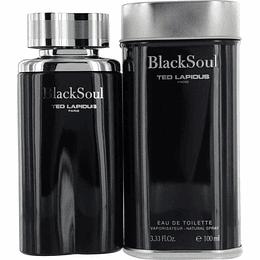 Black Soul Ted Lapidus 100Ml Hombre  Edt