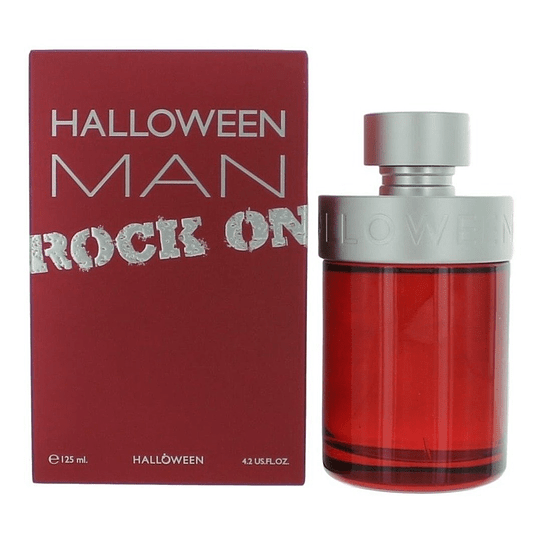 Halloween Man Rock On Jesus Del Pozo 125Ml Hombre  Edt