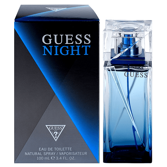 Night Guess 100Ml Hombre  Edt